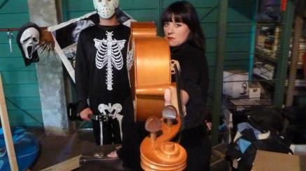 Soozie and the Cheesewagon - Halloween Photo Shoot